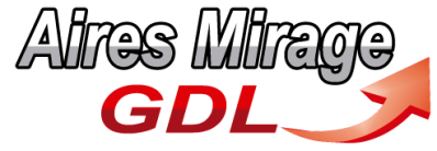 Logo aires mirage gdl